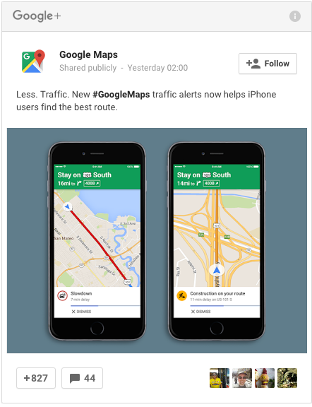 Google Maps For iOS Now Gives You Traffic Alerts | Zhero