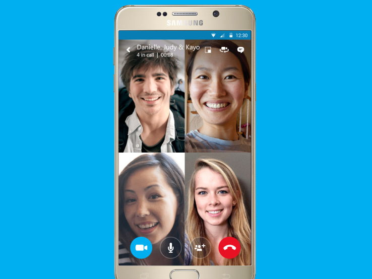 Skype free video calling android